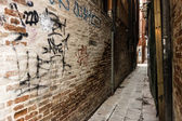 Dirty alley — Stock Photo