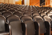 Theater chairs — Stockfoto