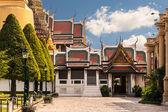 Wat Phra Kaew entrance — Stock Photo