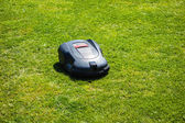 Automatic mower — Stock Photo