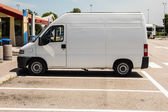 White van — Stock Photo