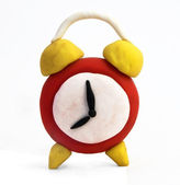 Toy clock — Stock Photo