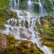 Waterfall in rocky Mountains Caucasus — Stock Photo