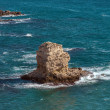 Coastal Sea Rocks beautiful view resort landscape in Tarhankut, Crimea, Ukraine — Foto Stock
