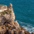 Coastal Sea Rocks beautiful view resort landscape in Tarhankut, Crimea, Ukraine — Stock Photo