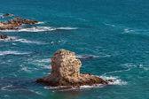 Coastal Sea Rocks beautiful view resort landscape in Tarhankut, Crimea, Ukraine — Stock Photo