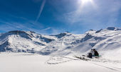Hintertux in Austria - European Alps — Stock Photo