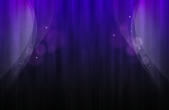Violette background with abstract curtain — Stock Photo