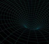 Wormhole model — Stock Photo