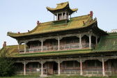 The building is in the Winter Palace of Bogd Khan in Ulan Bator, Mongolia — Stock Photo
