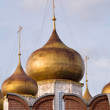 Royalty-Free Stock Photo: Golden dome Assumption Cathedral in Tula Kremlin walls