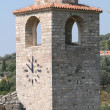 The clock tower in the town of Bar — Stock Photo
