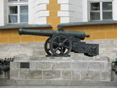 The old gun in the Moscow Kremlin — Stock Photo