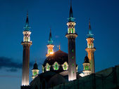 The building of the main mosque in the city of Kazan, Tatarstan — Stock Photo