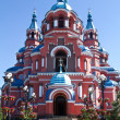Kazan Cathedral in the city of Irkutsk, Russia — Stock Photo #12770533