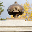 Monument to the founder of Krasnoyarsk Ryazanov — ストック写真