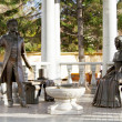 "Monument to heroes of novel ""Eugene Onegin"" — Stockfoto #13690705"