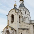 The Church of St. Michael the Archangel and the miracle it Khonekh, Krasnoyarsk - Stockfoto