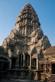 The remains of the ancient temple in Angkor Wat — Foto Stock