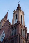 Katholische kathedrale in der stadt krasnojarsk - orgel-halle — Stockfoto