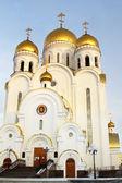 Temple of Christmas in Krasnoyarsk — Stock Photo