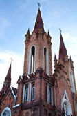 Katholieke kathedraal in de stad krasnojarsk - orgel hall — Stockfoto