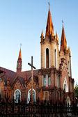 Cattedrale cattolica nella città di krasnoyarsk - sala organo — Foto Stock