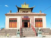 在蒙古寺佛教建筑学校 — 图库照片