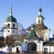 "Monastery in honor of the Mother of God, ""Znamenie"" - Stock Photo"