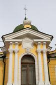 Bygga ett konstmuseum uppkallad efter surikov i krasnoyarsk — Stockfoto