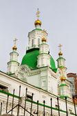 Basil s Cathedral in the city of Krasnoyarsk — Stock Photo
