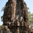 Stock Photo: Corner Tower in one of ancient temples in Angkor