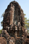 Corner Tower in one of the ancient temples in the Angkor — Stock Photo