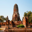 Stock Photo: Bueng PhrRam temple in Ayutthaya, Thailand