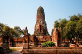 Bueng Phra Ram temple in Ayutthaya, Thailand — Stock Photo
