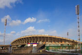 Central stadium in Krasnoyarsk — Stock Photo