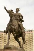 Timoer lenk monument in het belangrijkste plein van tasjkent — Stockfoto