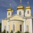 Temple of Saints of Moscow, in the city of Nizhny Novgorod — Stock Photo