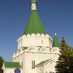 Orthodox Cathedral in Nizhny Novgorod, Russia — Stock Photo