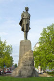 Monument to Russian writer - Maxim Gorky in Nizhny Novgorod — Stock Photo