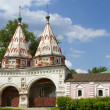 Holy Gates Rizopolozhensky monastery in Suzdal — Stock Photo #26436641