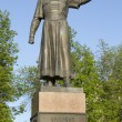 The monument to Kozma Minin - Russian governor liberator from Polish invaders — Stock Photo