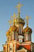 Cathedral of the Blessed Virgin in the city of Nizhny Novgorod — Stock Photo
