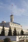 View of the river station in Nizhny Novgorod — Stock Photo