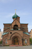 Russian Orthodox Old Believers' Church in the city of Kazan — Stockfoto