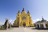 Alexander Nevsky Cathedral in Nizhny Novgorod — Stock Photo