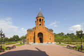 Armenian church in the city of Nizhny Novgorod — Stock Photo