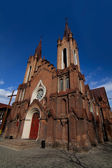 Catholic church in the Gothic style in the city of Krasnoyarsk — Foto de Stock