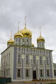 Uspensky katedral toprakları tula kremlin üzerinde — Stok fotoğraf