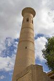Minaret in Khiva, Uzbekistan — Stock Photo